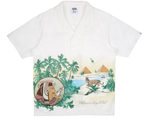 Billionaire Boys Club Pre-Fall '18 LANDSCAPE SCENERY S/S SHIRT - BONE