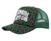 Billionaire Boys Club Pre-Fall '18 LEOPARD TRUCKER CAP - GREEN