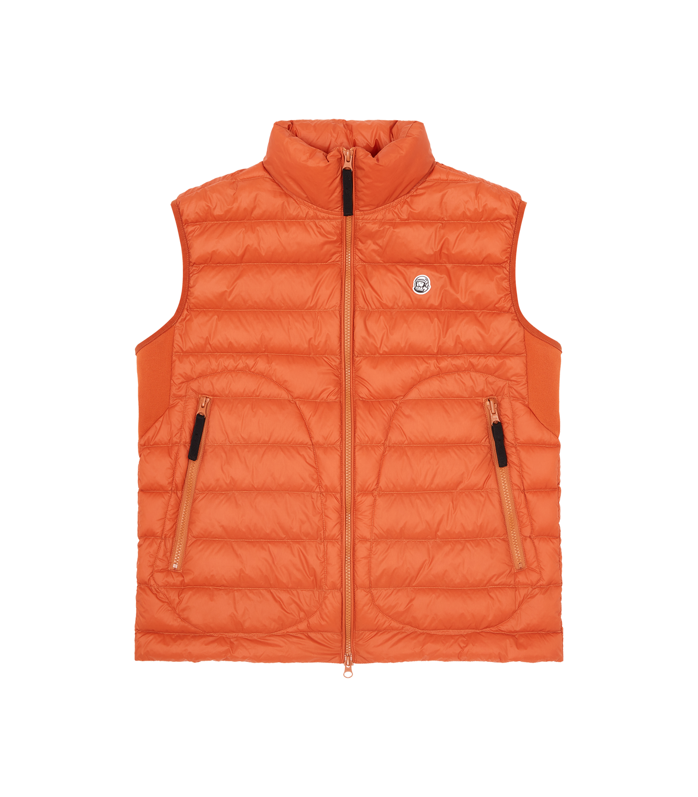LIGHTWEIGHT DOWN VEST - ORANGE