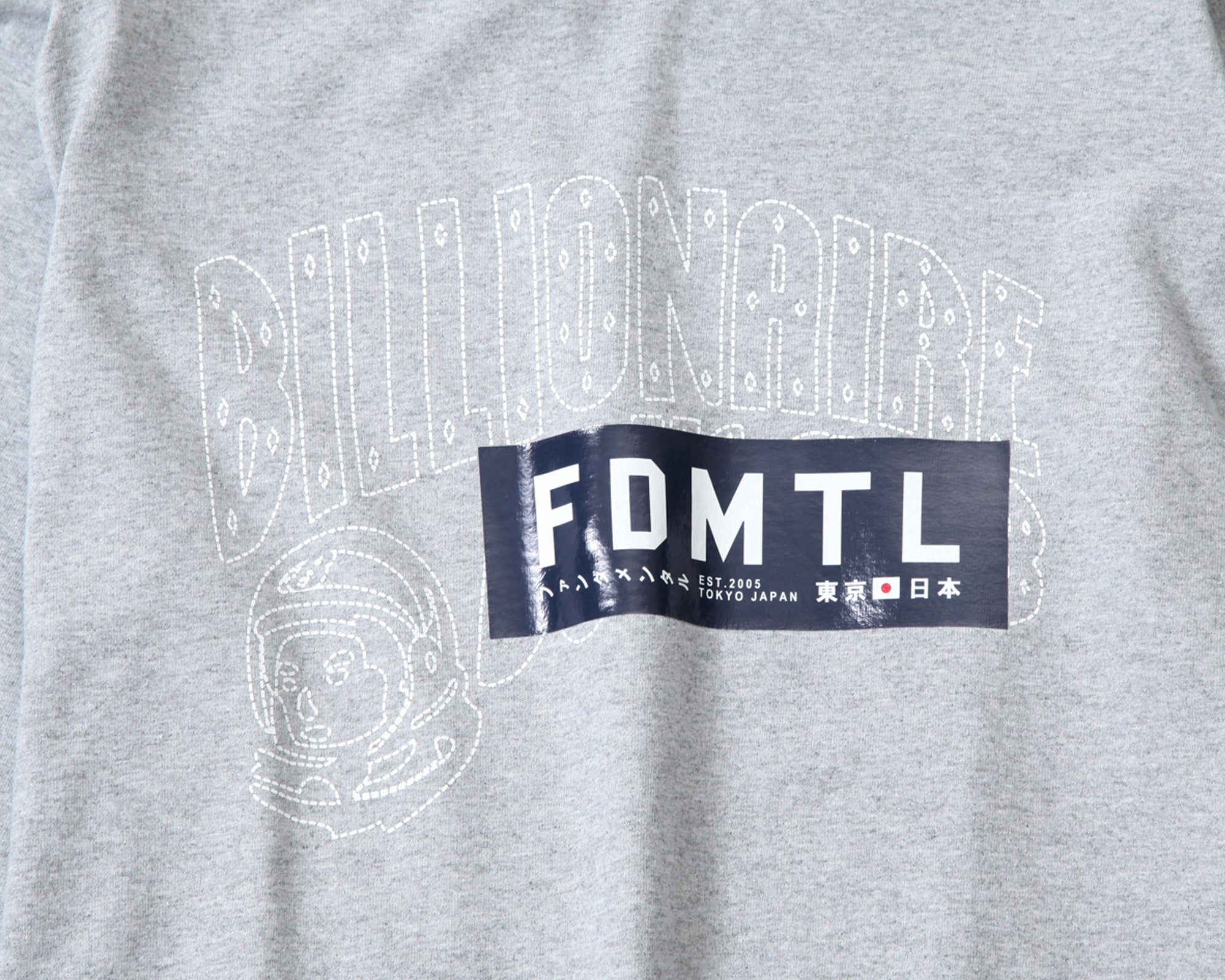 LOGO L/S T-SHIRT - GREY