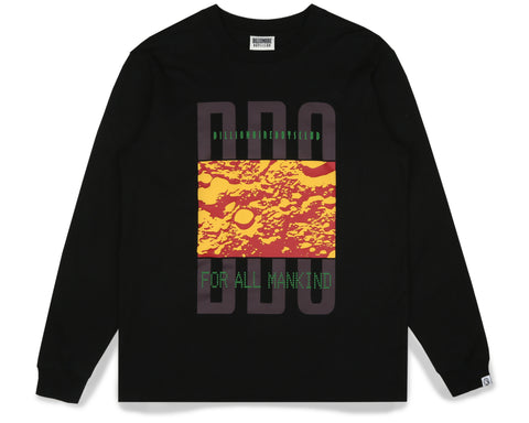 Billionaire Boys Club Fall '19 LUNAR SURFACE L/S T-SHIRT - BLACK