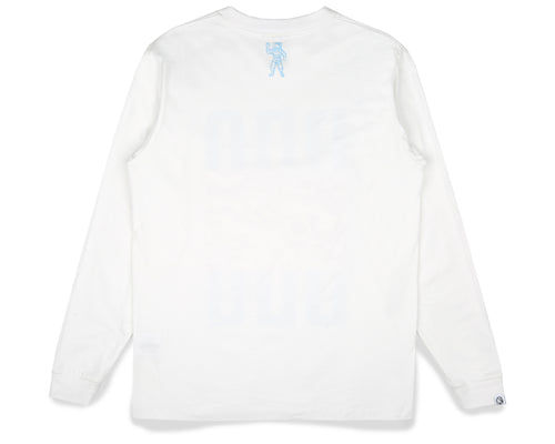 LUNAR SURFACE L/S T-SHIRT - WHITE