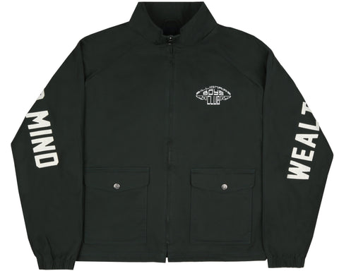 Billionaire Boys Club Pre-Spring '19 MANTRA ZIP JACKET - GREEN