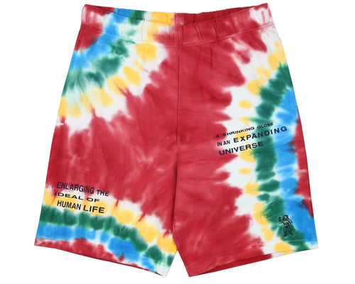 TIE DYE SHORT - RED