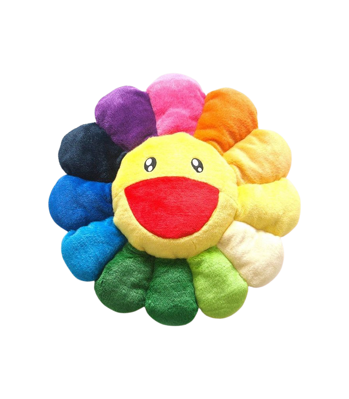 MURAKAMI FLOWER CUSHION 2M - RAINBOW