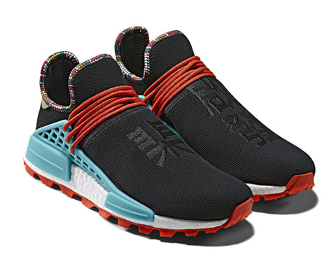 ADIDAS ORIGINALS = PHARRELL WILLIAMS SOLARHU NMD - BLACK