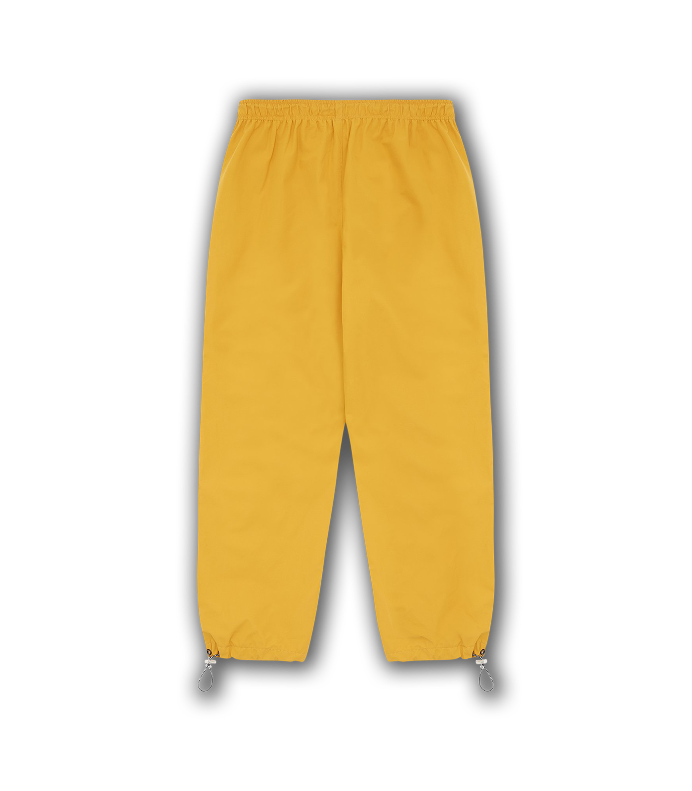 REFLECTIVE TRIM NYLON TRACK PANT - YELLOW