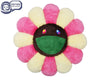 MURAKAMI MURAKAMI FLOWER CUSHION 1M - PINK IVORY & BROWN