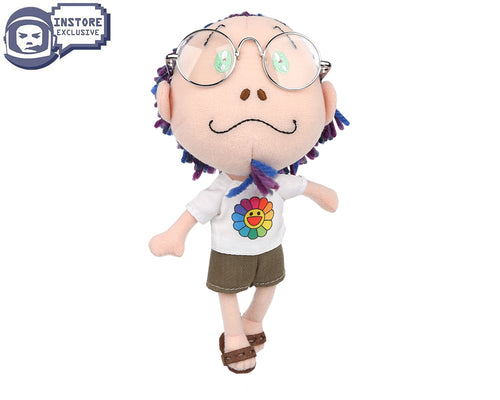 TAKASHI MURAKAMI PLUSH DOLL - MULTI