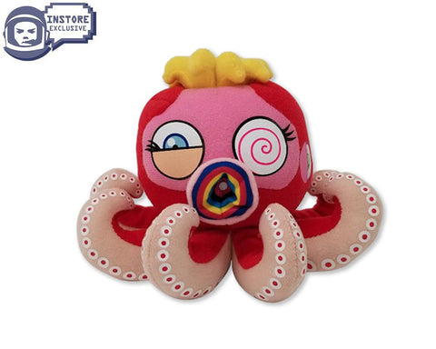 MURAKAMI MURAKAMI OCTOPUS: MR BOILED MINI - RED