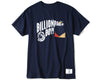 BBC X FDMTL POCKET T-SHIRT - NAVY