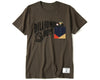 BBC X FDMTL POCKET T-SHIRT - OLIVE