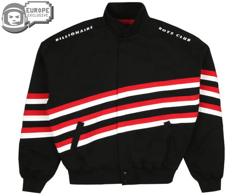 Billionaire Boys Club Pre-Spring '19 RACING TEAM JACKET - BLACK
