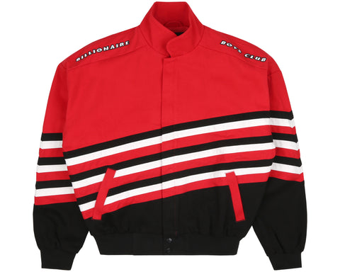 Billionaire Boys Club Pre-Spring '19 RACING TEAM JACKET - RED