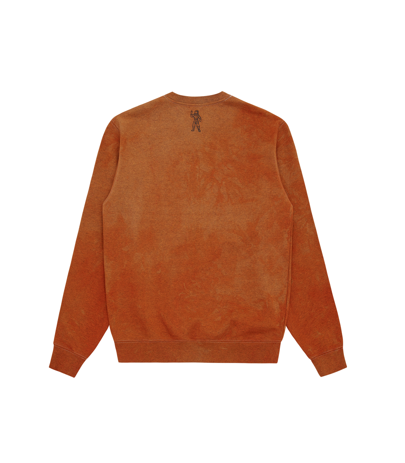 RECYCLED SMALL ARCH LOGO CREWNECK - ORANGE