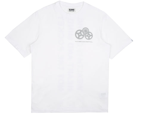 Billionaire Boys Club Pre-Spring '19 REFLECTIVE MANTRA PRINT T-SHIRT - WHITE