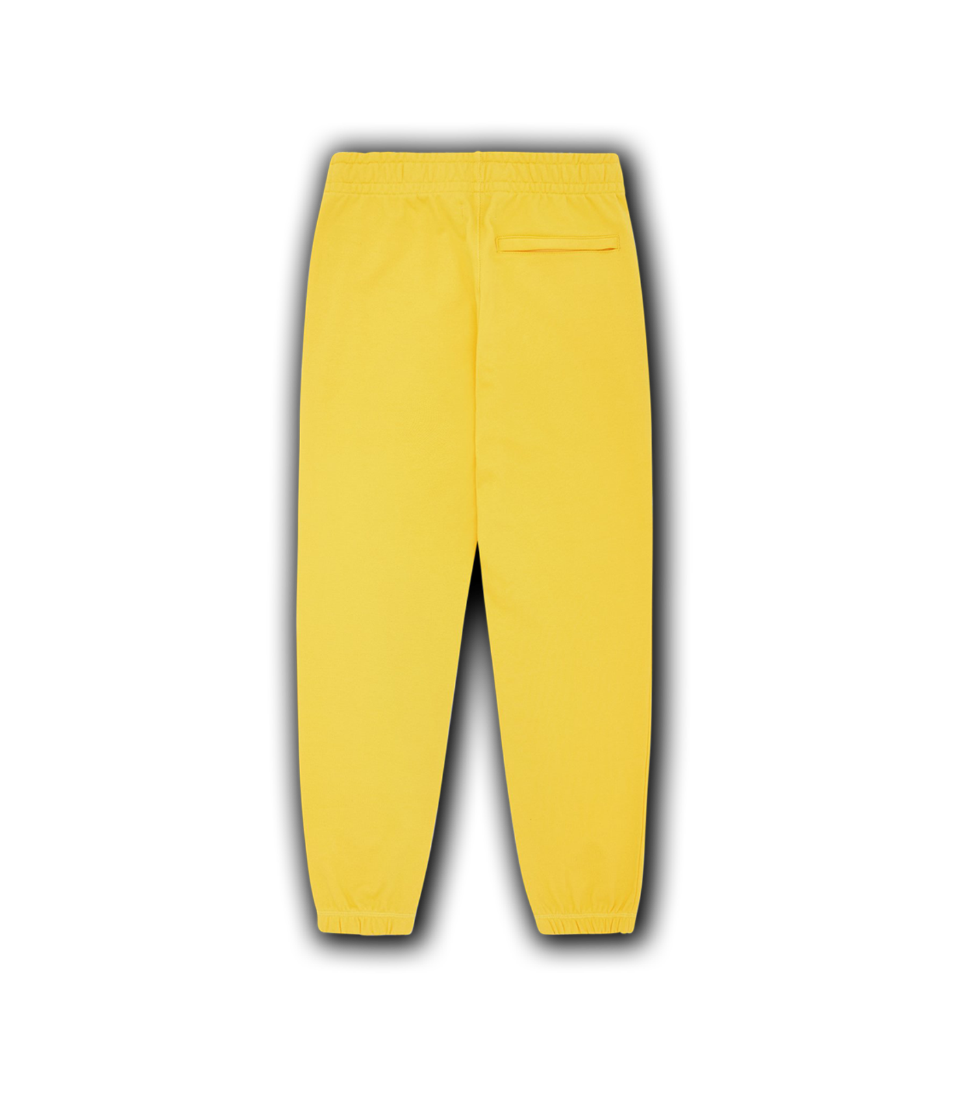 RUBBER PATCH SWEATPANT - YELLOW