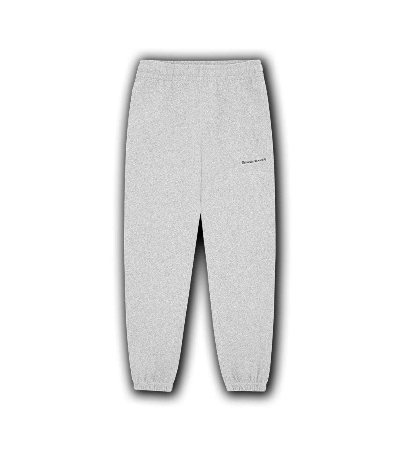 RUBBER PATCH SWEATPANT - HEATHER GREY
