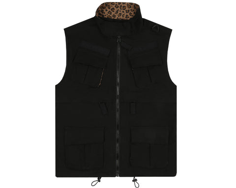 Billionaire Boys Club Pre-Fall '18 SAFARI VEST - BLACK