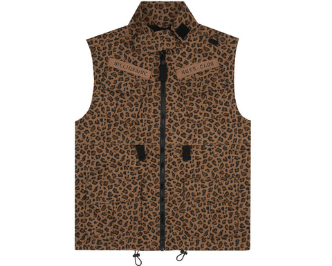 Billionaire Boys Club Pre-Fall '18 SAFARI VEST - BROWN