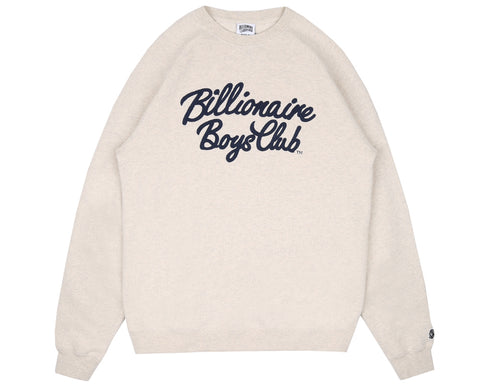Billionaire Boys Club Pre-Fall '18 SCRIPT CREWNECK - OAT MARL