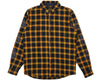 Billionaire Boys Club Pre-Fall '19 HELMET PRINT CHECK SHIRT - GOLDEN YELLOW
