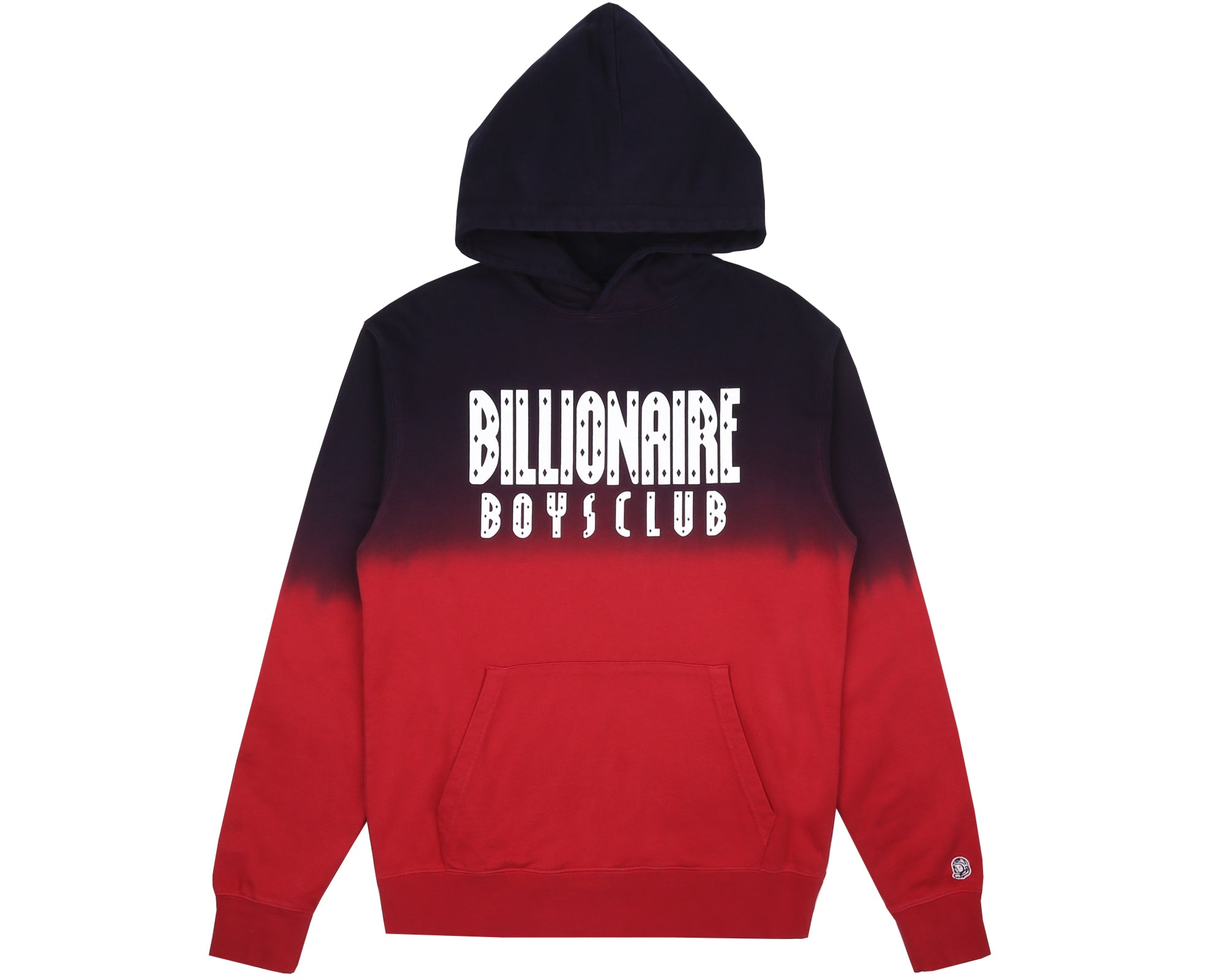 STRAIGHT LOGO POPOVER HOOD - RED
