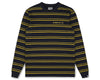 Billionaire Boys Club Fall '19 STRIPE KNIT L/S T-SHIRT - NAVY
