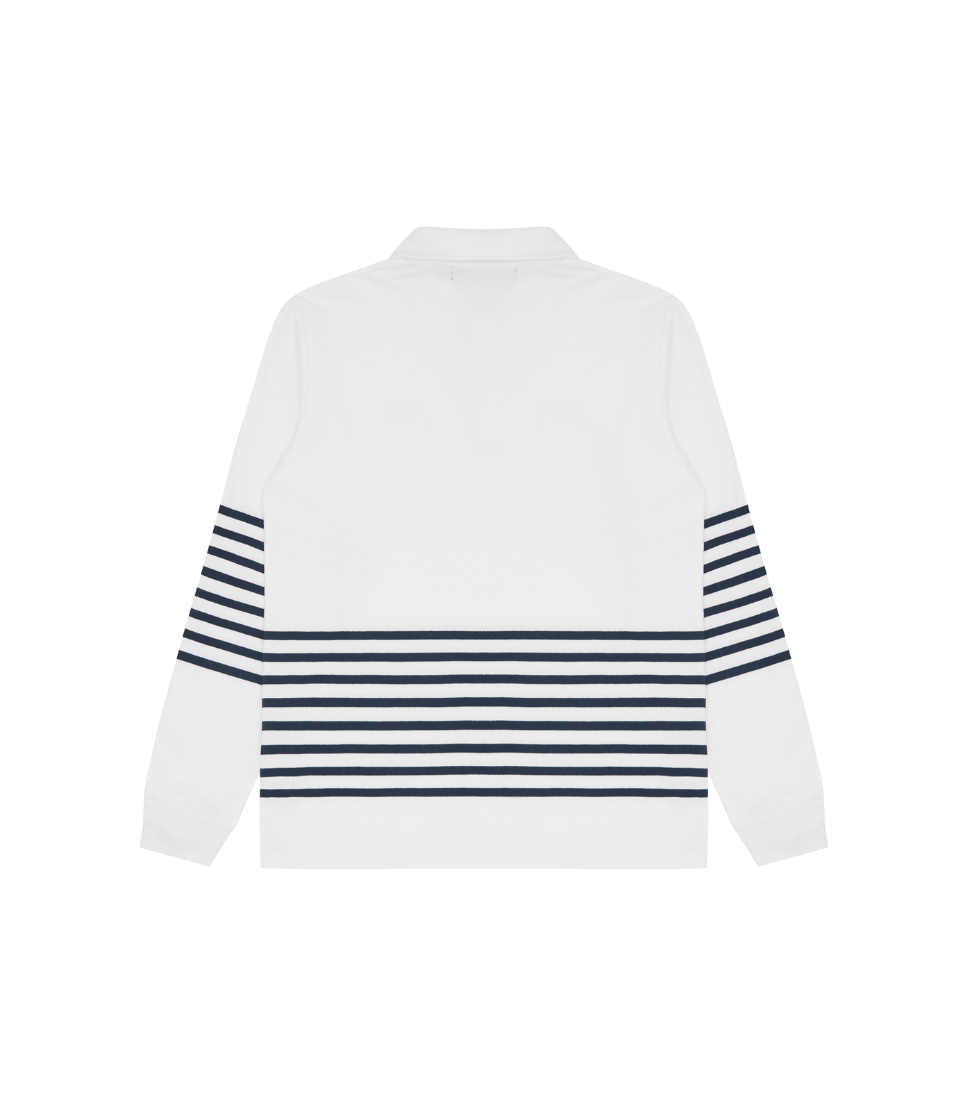 STRIPE KNIT RUGBY SHIRT