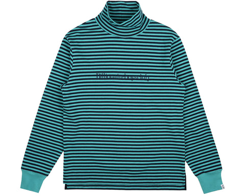 Billionaire Boys Club Fall '18 STRIPED L/S T-SHIRT - TEAL