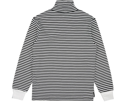 STRIPED L/S T-SHIRT - WHITE