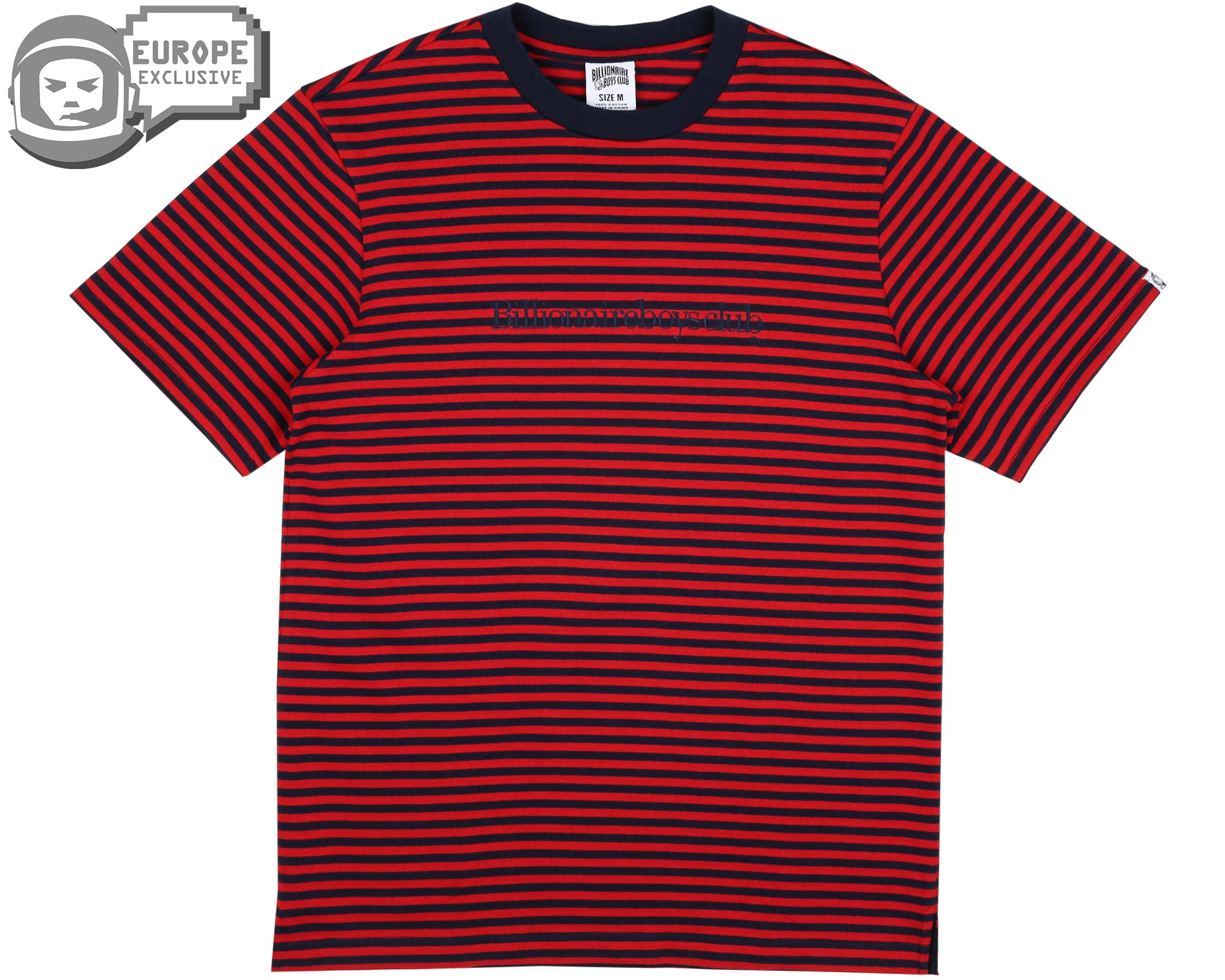 STRIPED T-SHIRT - RED