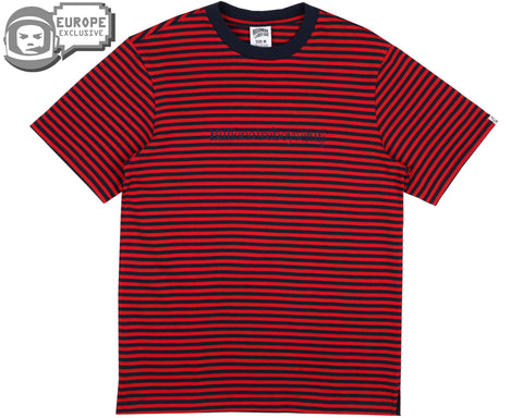 Billionaire Boys Club Fall '18 STRIPED T-SHIRT - RED