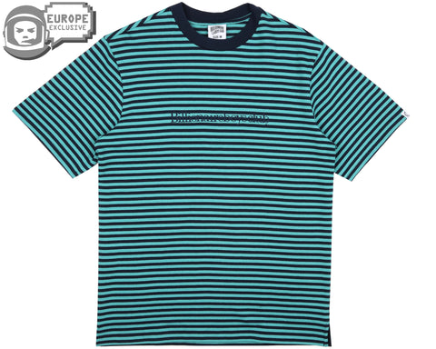 Billionaire Boys Club Fall '18 STRIPED T-SHIRT - TEAL