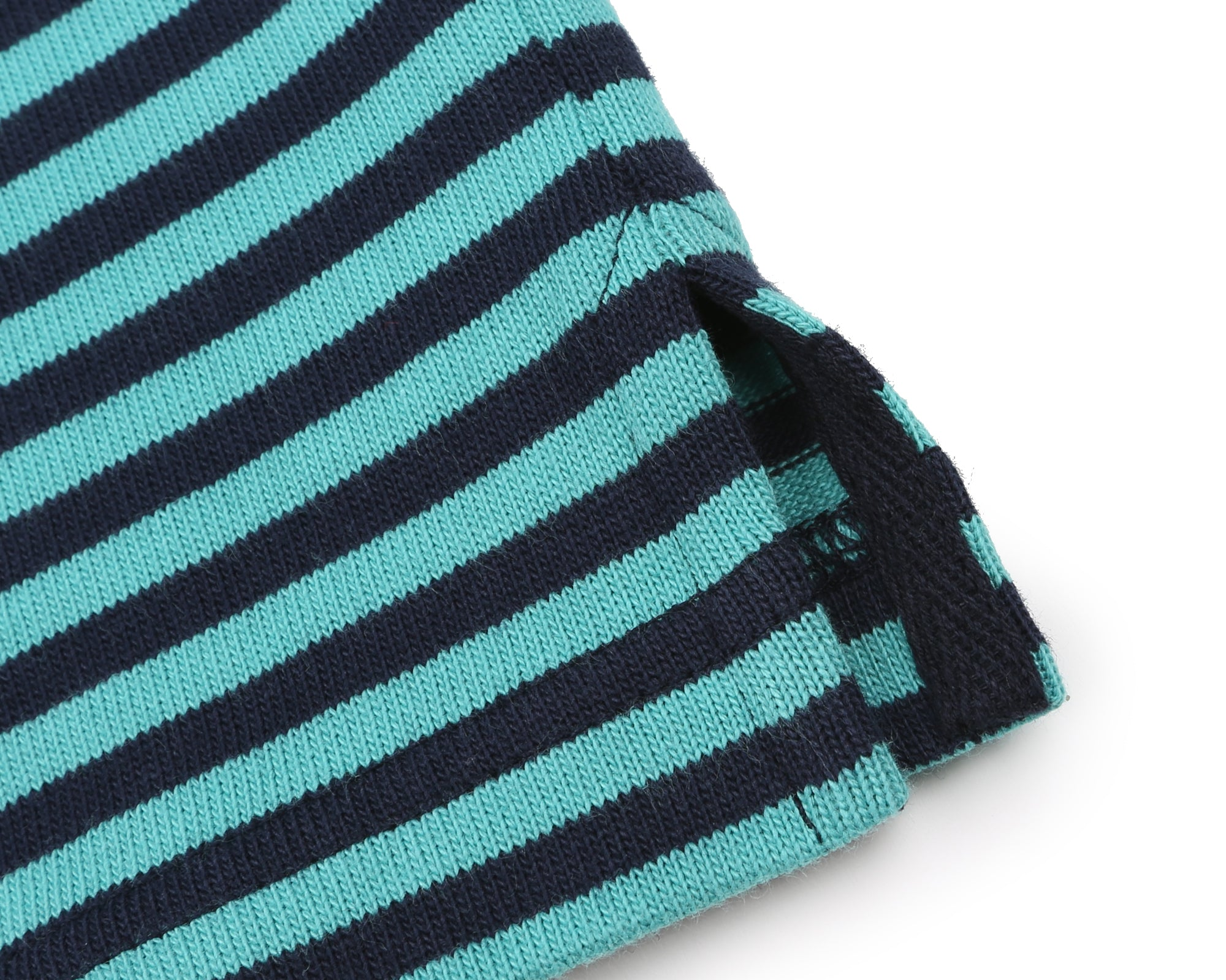 STRIPED T-SHIRT - TEAL