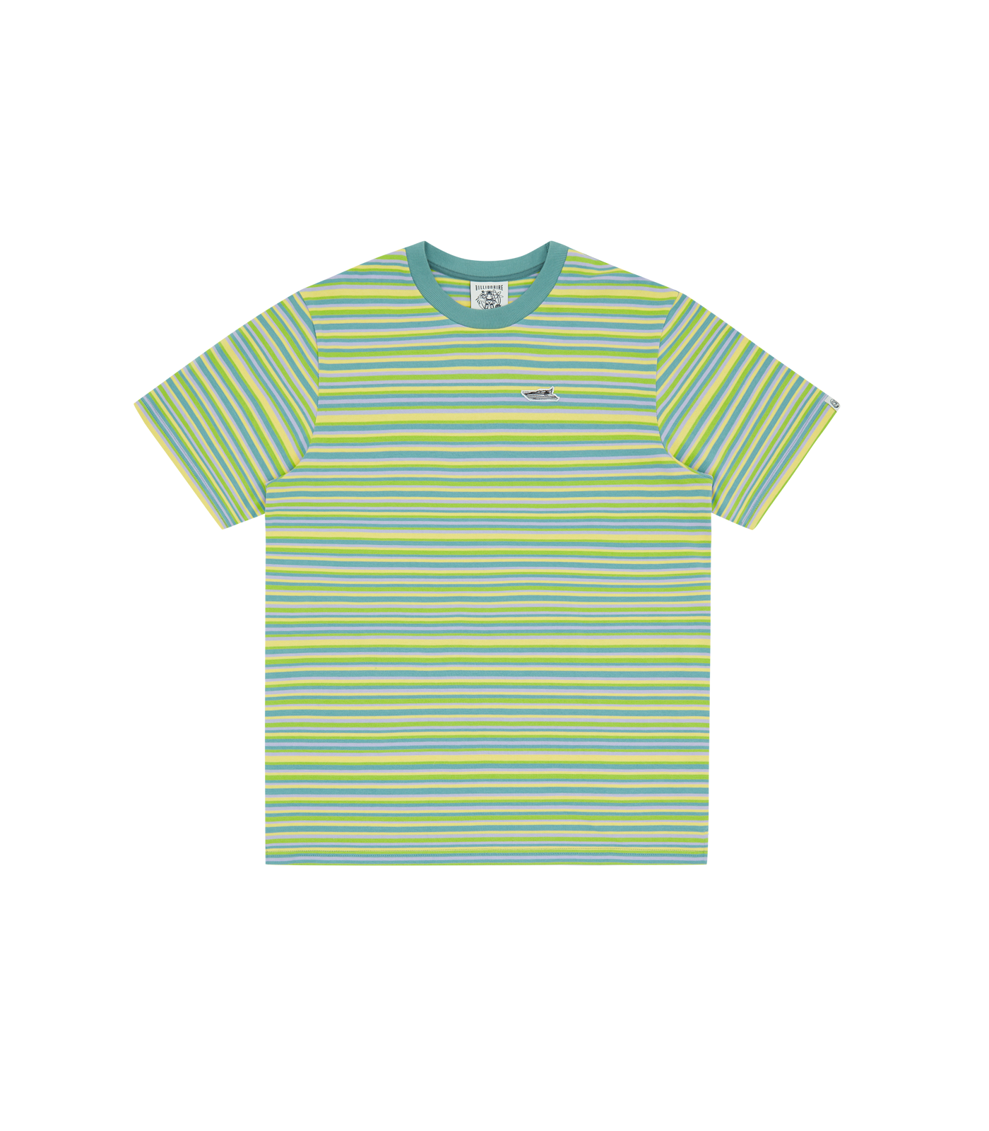 STRIPE KNIT T-SHIRT