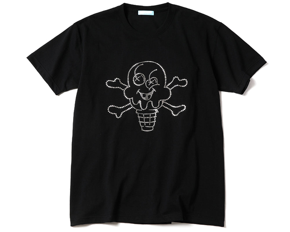 CONES & BONES T-SHIRT - BLACK
