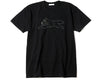 ICECREAM JAPAN RUNNING DOG T-SHIRT - BLACK