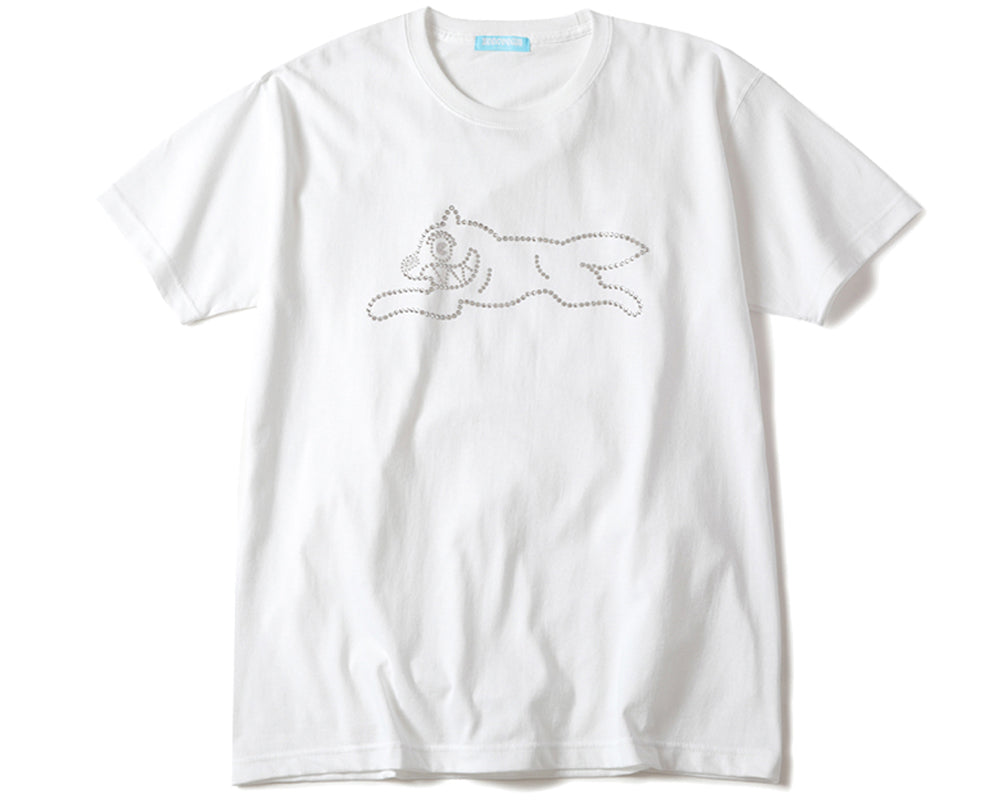 RUNNING DOG T-SHIRT - WHITE