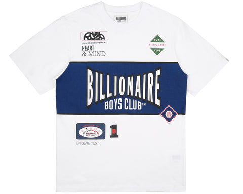 Billionaire Boys Club Pre-Spring '19 TRACK TEAM T-SHIRT - WHITE