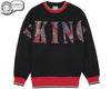 Billionaire Boys Club Fall '18 VIKINGS APPLIQUE CREWNECK - BLACK