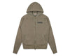 Billionaire Boys Club Fall '19 WAFFLE LINED ZIP THROUGH HOOD - BEIGE