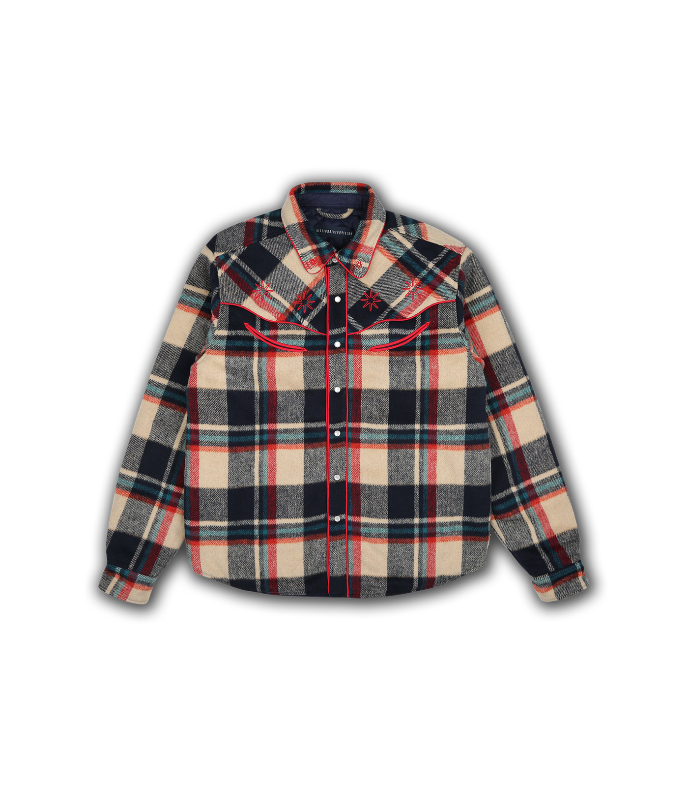 WESTERN CHECK SHIRT - TAN