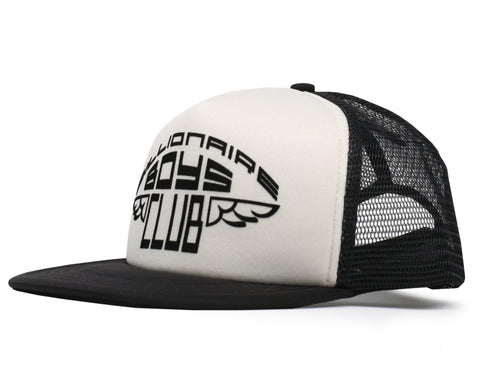 Billionaire Boys Club Pre-Spring '19 WING GRAPHIC TRUCKER CAP - BLACK