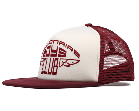 Billionaire Boys Club Pre-Spring '19 WING GRAPHIC TRUCKER CAP - BURGUNDY