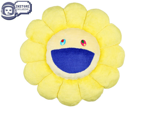MURAKAMI MURAKAMI FLOWER CUSHION 30CM - YELLOW & WHITE
