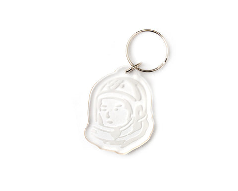 Billionaire Boys Club ACRYLIC HELMET HEAD KEY CHAIN - CLEAR