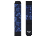 Billionaire Boys Club HAPPY SOCKS X BBC ASTRONAUT SOCKS - BLACK/BLUE