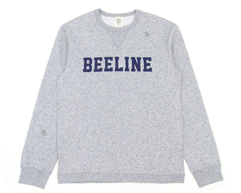 BEE LINE BEE LINE SPECKLED CREWNECK - NAVY