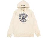 BEE LINE BEE LINE SUEDED HOODY - OFF WHITE